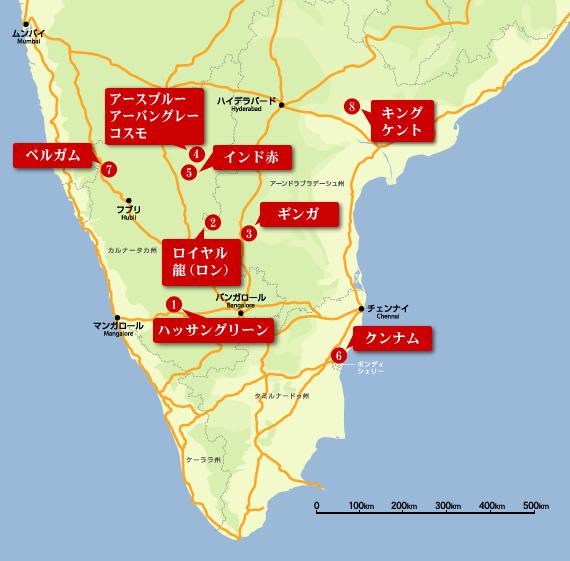 丁場情報 地図